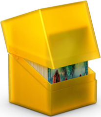 Ultimate Guard - Deck Case 100+ Boulder - Amber