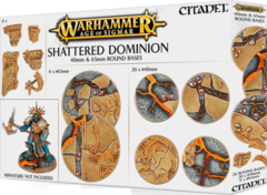 Age of Sigmar Shattered Dominion: 40 & 65mm Round