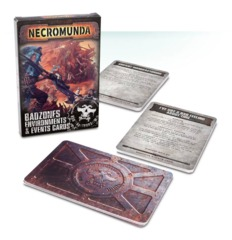 Necromunda: Badzone Environments & Events Cards [OOP]