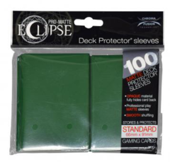 Ultra Pro - Pro Matte Eclipse: Deck Protector 100 Count Pack - Forest Green