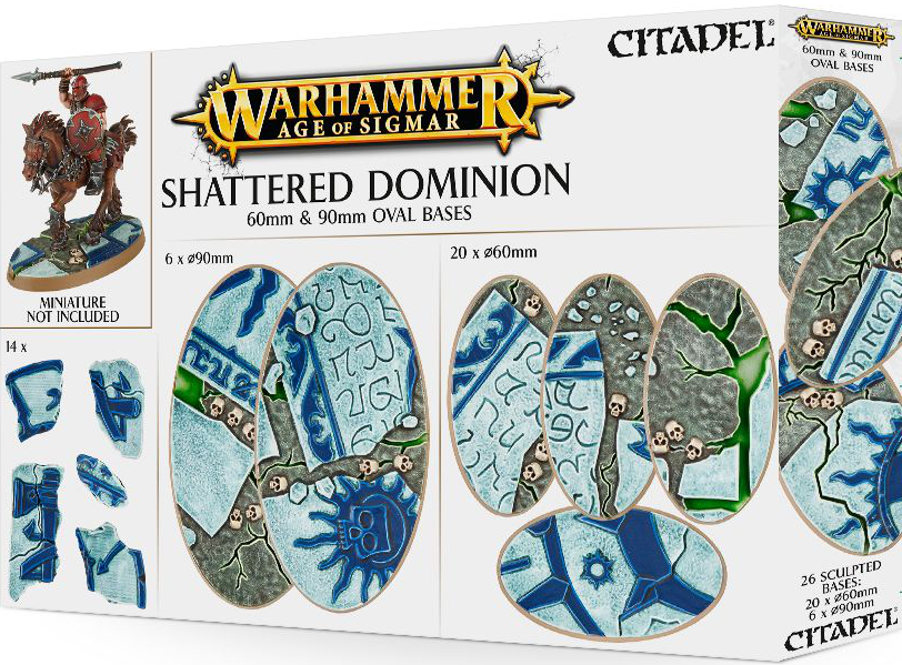 Age of Sigmar Shattered Dominion: 60 & 90mm Oval