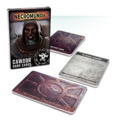 Necromunda: Cawdor Gang Cards (English)