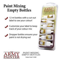 Paint Mixing Empty Bottles (2019)