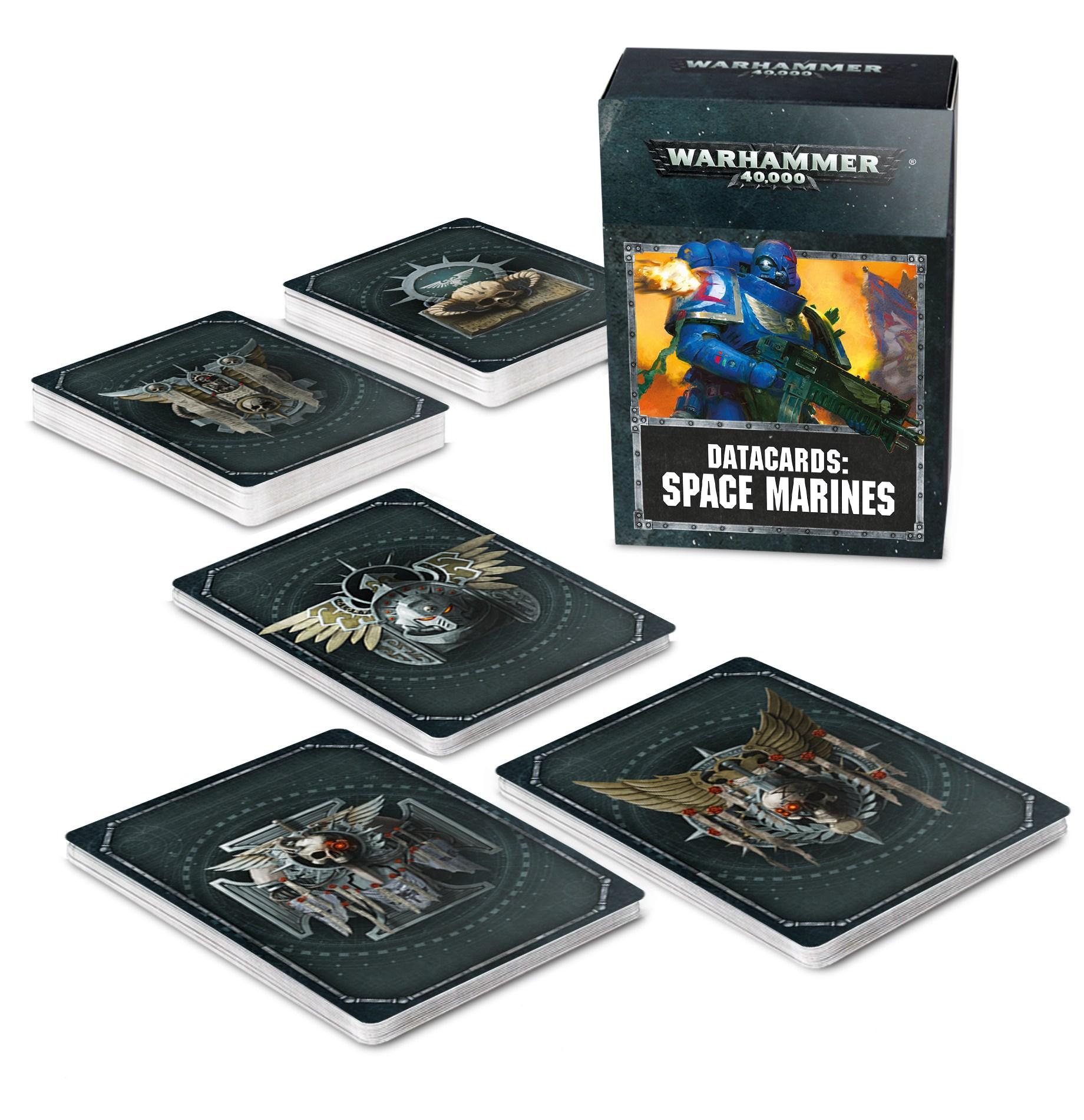 Datacards: Space Marines (2019)