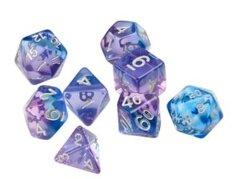 Violet Betta Polyhedral Dice Set - Sirius