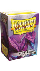 Dragon Shield Box of 100 - Matte Purple Non-Glare