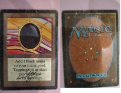 Mox Jet - (scan 0001) ( signed, beta, damaged )