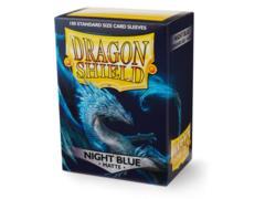 Dragon Shield Night Blue: Botan Matte Sleeves - (Box of 100)