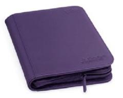Ultimate Guard Zipfolio XenoSkin - 4 Pocket -  Purple