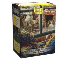 Dragon Shield Box of 100 - Art - Christmas Dragon