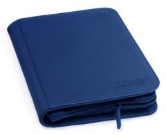 Ultimate Guard Zipfolio XenoSkin - 4 Pocket -  Blue