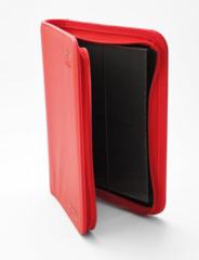 Ultimate Guard Zipfolio XenoSkin - 4 Pocket -  Red