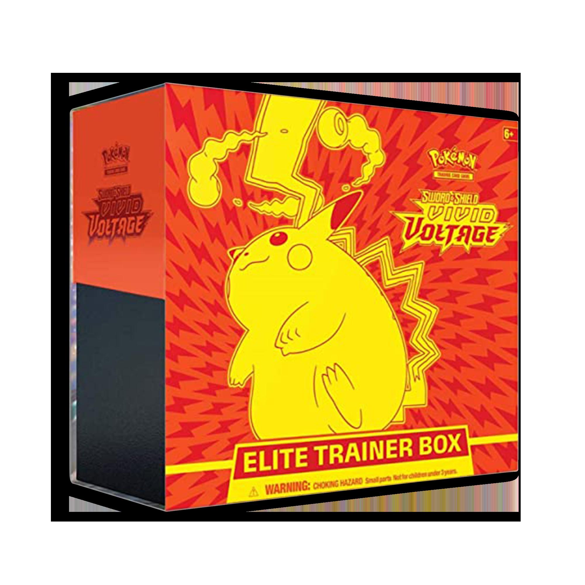 Pokemon Shining Legends Elite Trainer Box Empty NO BOOSTER PACKS