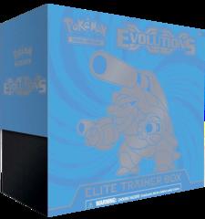 XY Evolutions Elite Trainer Box - Mega Blastoise
