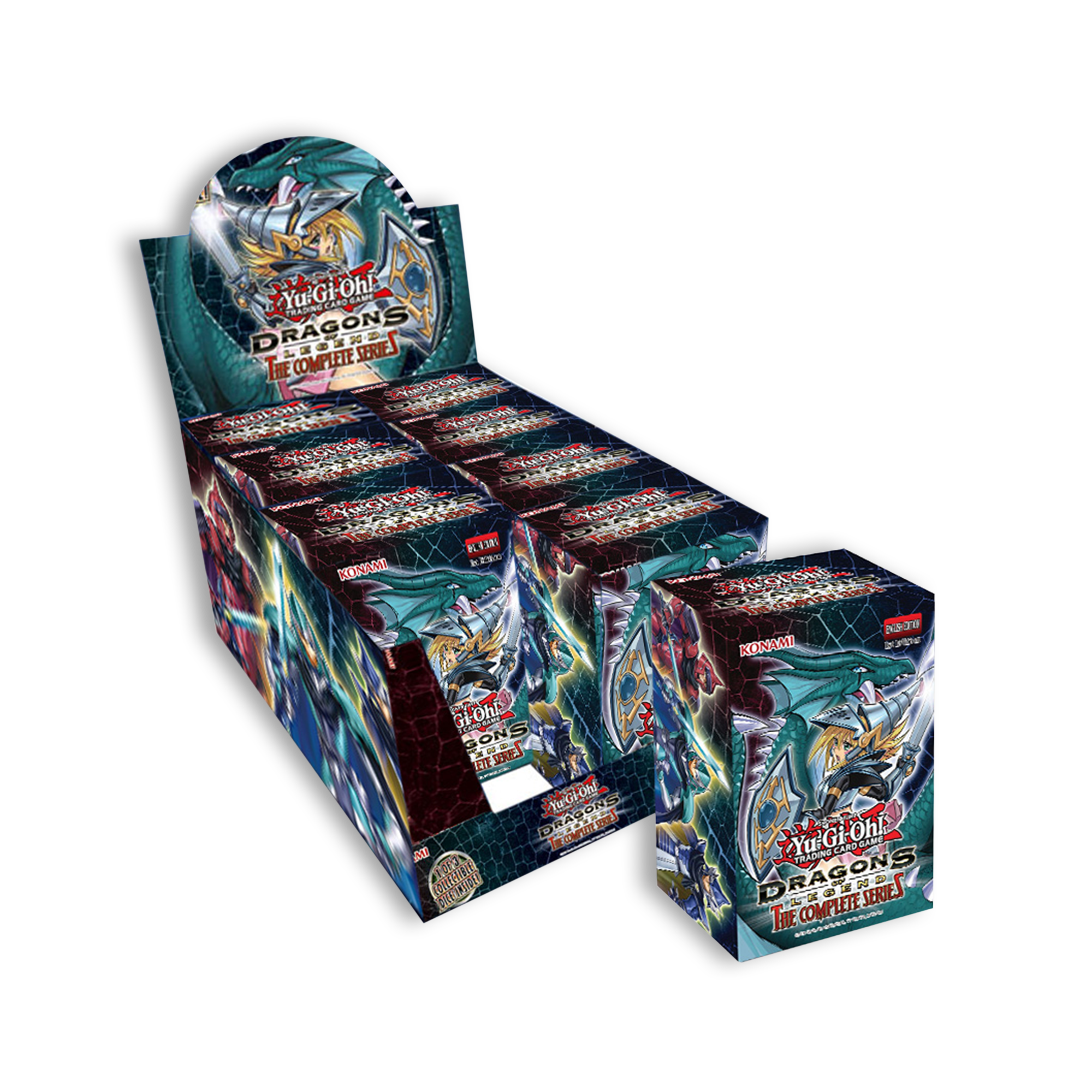 Dragons of Legend: The Complete Series Display Box (8 Mini-Boxes)