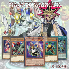YUGI'S MAGNET WARRIOR DECK 21 | Valkyrion Delta Alpha Beta Gamma Magnetic YuGiOh