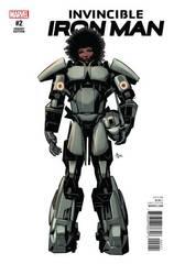 Invincible Iron Man #2 Deodato Teaser Var