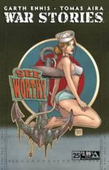 WAR STORIES #25 GOOD GIRL NOSE ART CVR (MR)