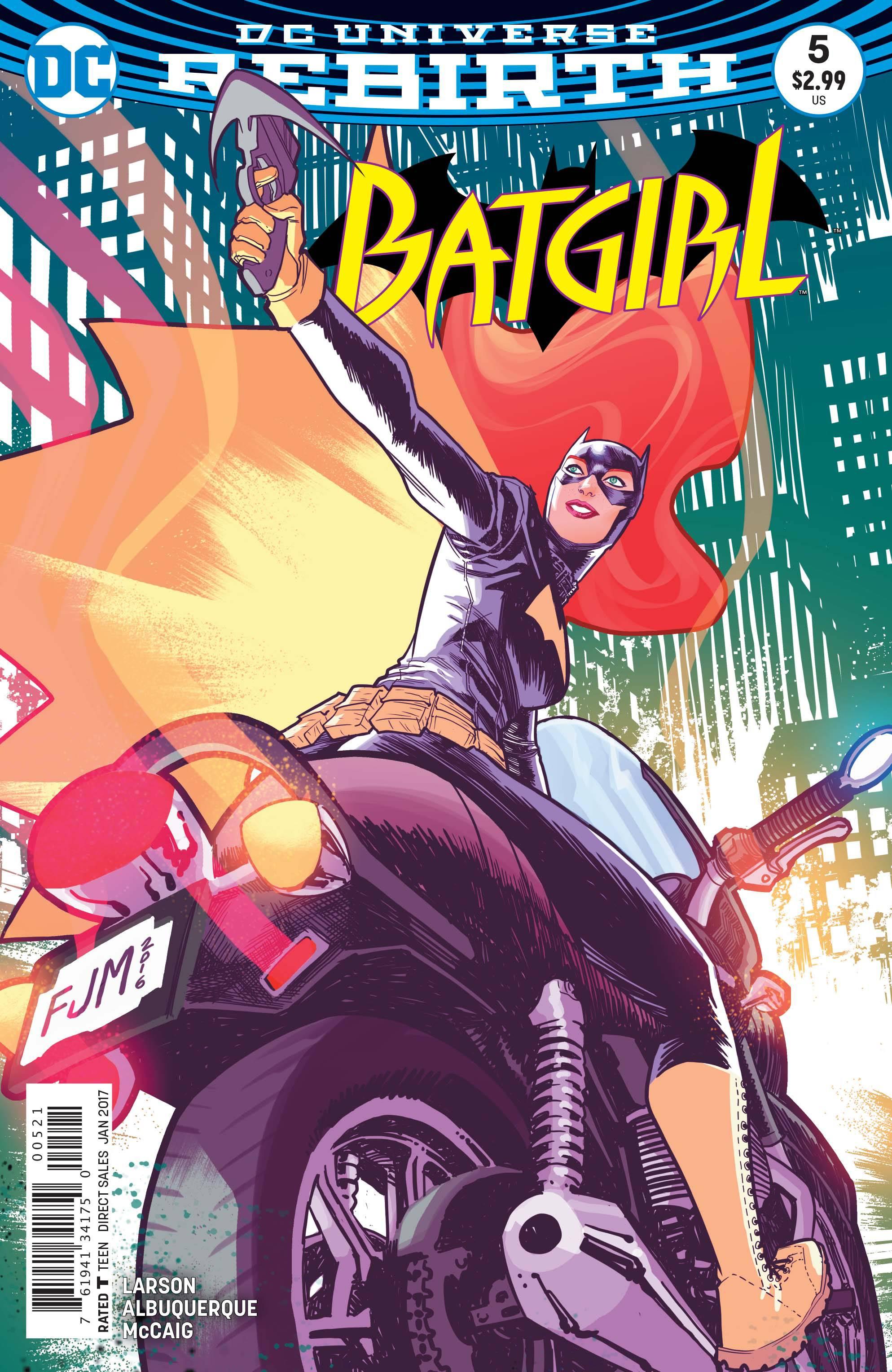 Batgirl #5 Var Ed