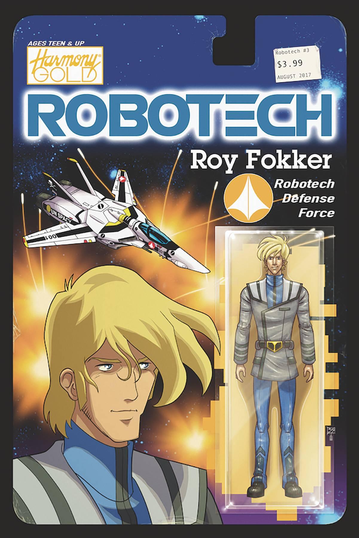 ROBOTECH #4 CVR C ACTION FIGURE VAR