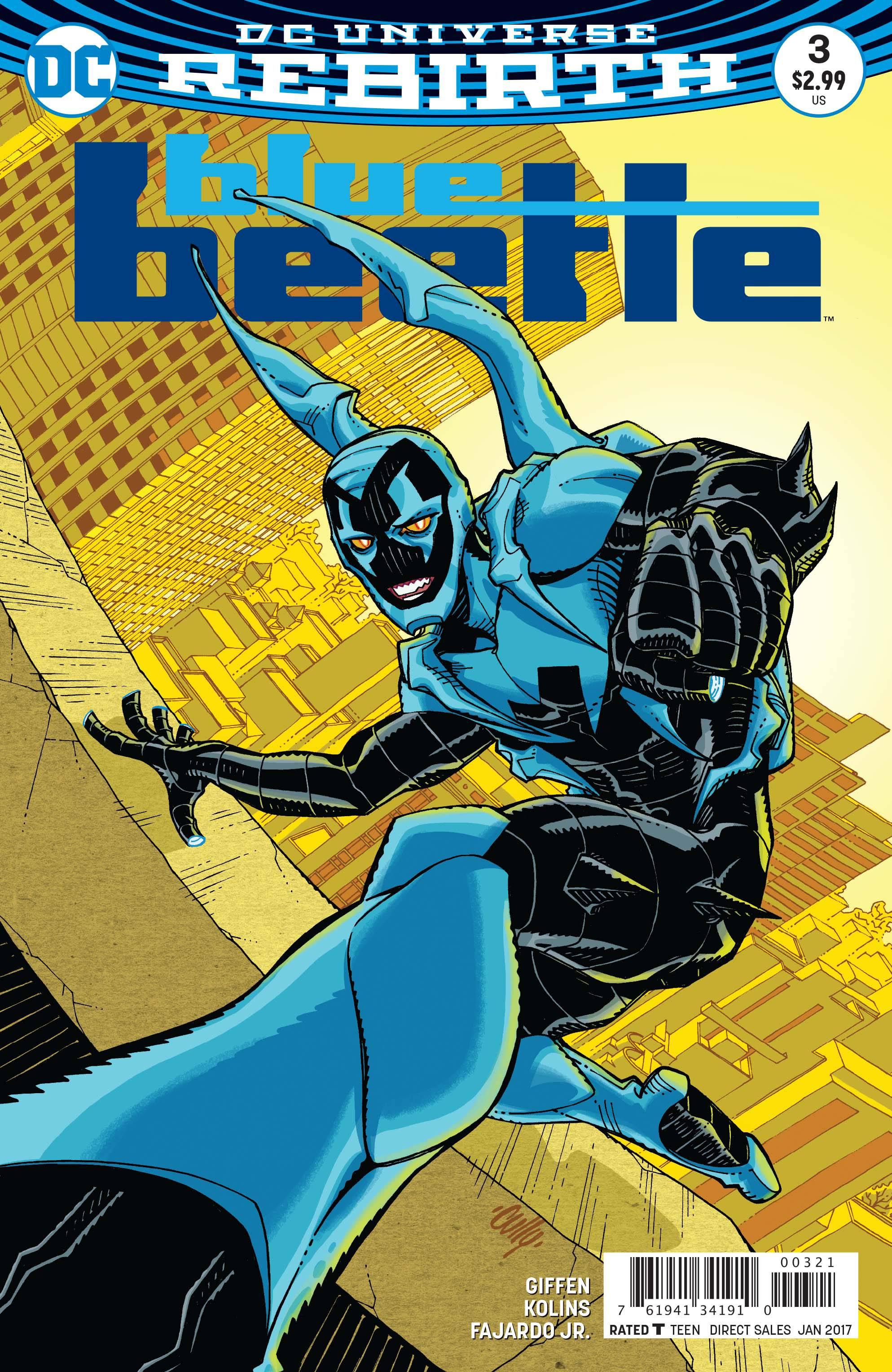 Blue Beetle #3 Var Ed