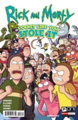 RICK & MORTY POCKET LIKE YOU STOLE IT #3 (OF 5) (C: 1-0-0)