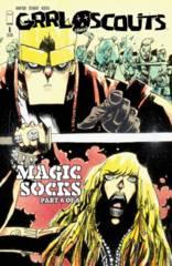 GRRL SCOUTS MAGIC SOCKS #6 (OF 6) WALKING DEAD #158 TRIBUTE