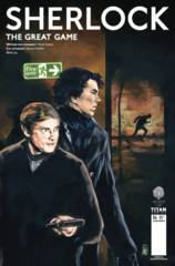 SHERLOCK GREAT GAME #4 (OF 6) CVR A BUCKINGHAM