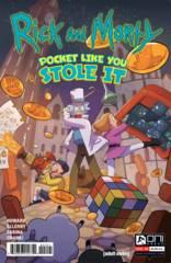 RICK & MORTY POCKET LIKE YOU STOLE IT #4 (OF 5) COSTA VAR (C
