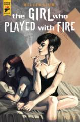 MILLENNIUM GIRL WHO PLAYED WITH FIRE #2 (OF 2) CVR A IANNICI