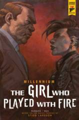 MILLENNIUM GIRL WHO PLAYED WITH FIRE #2 (OF 2) CVR B BOOK VA
