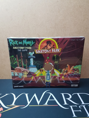 Rick and Morty: Anatomy Park - The Game - Board Games