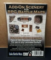 Add-On Scenery For RPG Battle Mats - Lake Battle Mats (New Sealed)