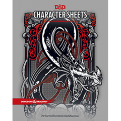 D&D Character Sheets  Dungeons & Dragons Accessory