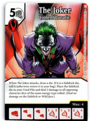 The Joker - Violent Lunatic (Die & Card Combo)