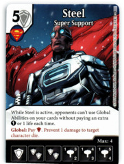 Steel - Super Support (Die & Card Combo)