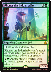 Rhonas the Indomitable - Foil