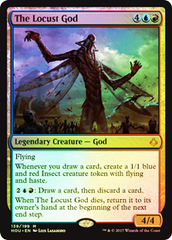 The Locust God - Foil