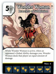 Wonder Woman - Bracelets of Submission (Die & Card Combo)