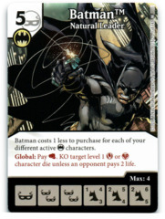 Batman - Natural Leader (Die & Card Combo)