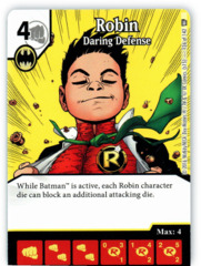 Robin - Daring Defense (Die & Card Combo)