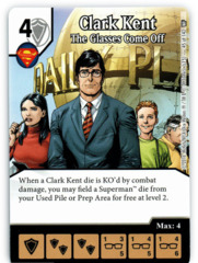 Clark Kent - The Glasses Come Off (Die & Card Combo)