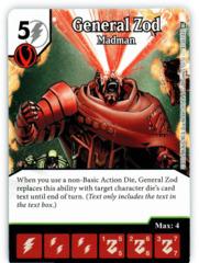 General Zod - Madman (Die & Card Combo)
