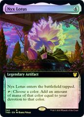 Nyx Lotus - Foil - Extended Art