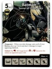 Batman - Terror of Crime Alley (Die & Card Combo)