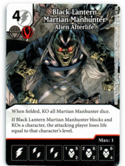 Black Lantern Martian Manhunter - Alien Afterlife (Die & Card Combo)