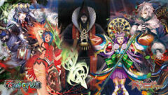 Ultra Pro - Force of Will: Return of the Dragon Emperor Playmat Version 1