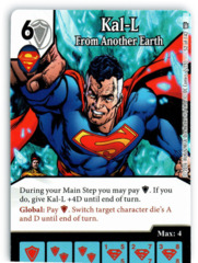 Kal-L - From Another Earth (Die & Card Combo)