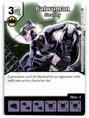 Catwoman - Stealthy (Die & Card Combo)