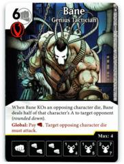 Bane - Genius Tactician (Die & Card Combo)